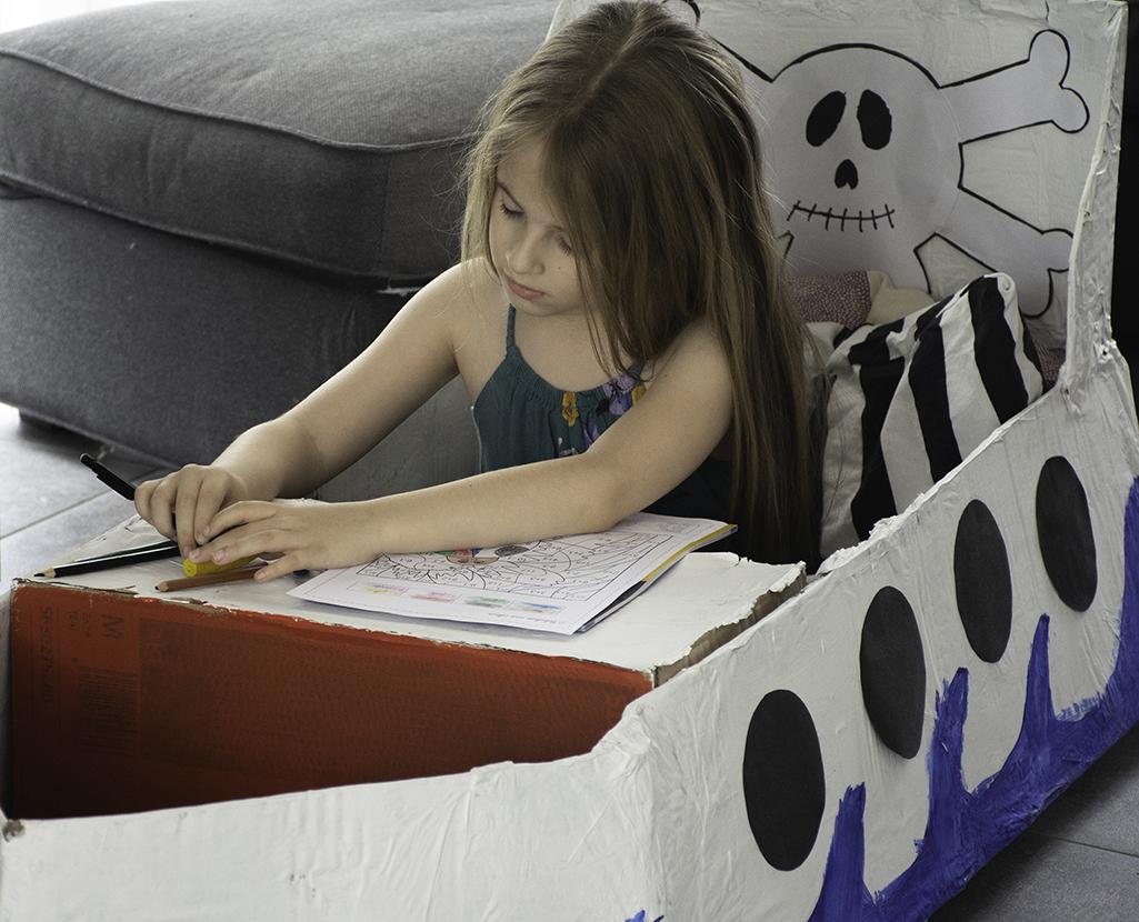 El barco de papel. Encerrados en casa (primer round)