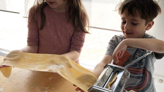 Pasta hecha en casa; receta y astucias