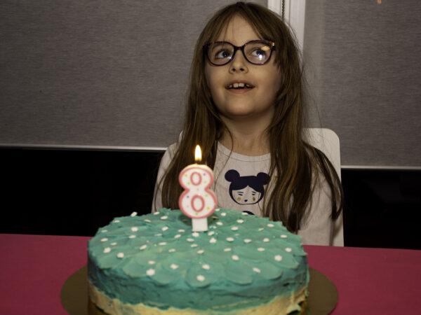 Historia del cumpleaños 8