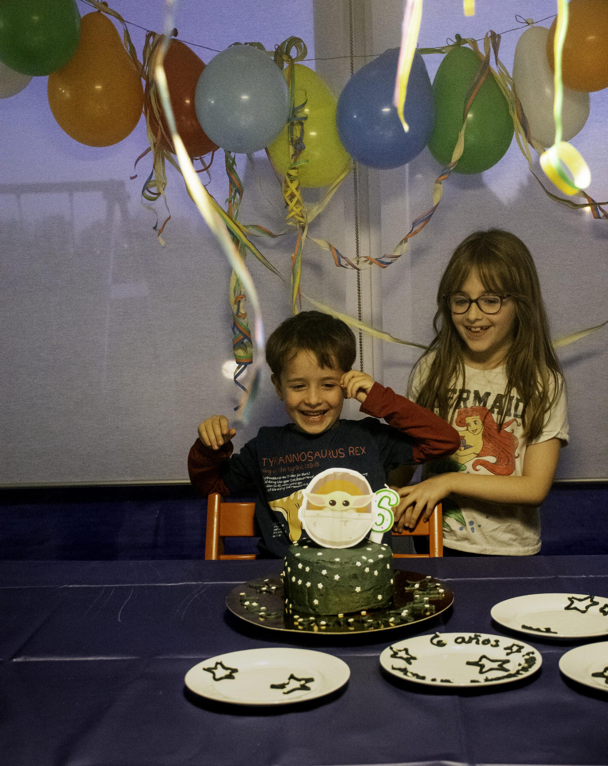 Segundo cumpleaños en encierro (6 años)