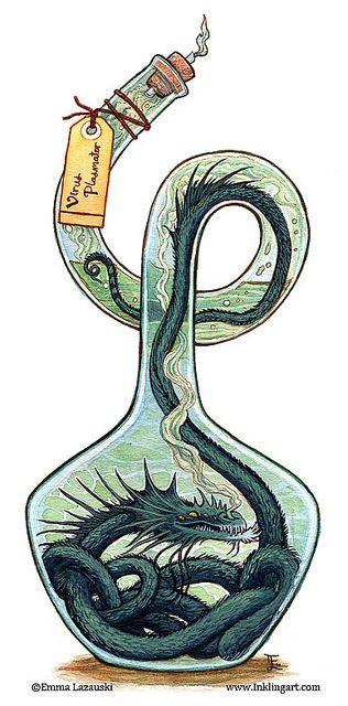 Nils y el dragón de la botella